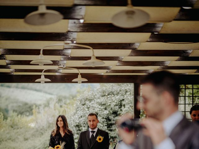 Il matrimonio di Stefano e Salvina a Scheggino, Perugia 26