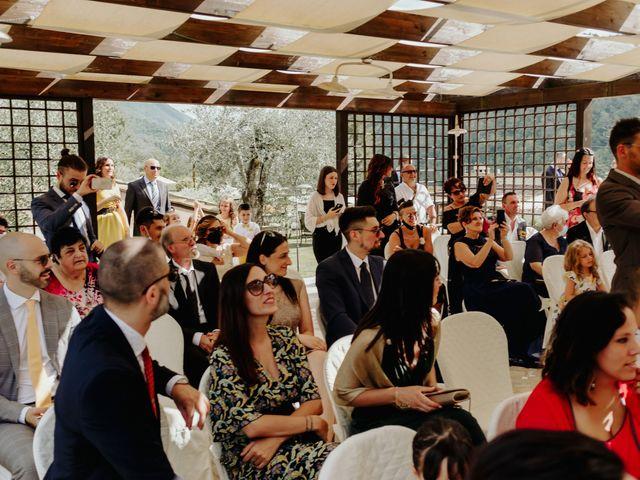 Il matrimonio di Stefano e Salvina a Scheggino, Perugia 32