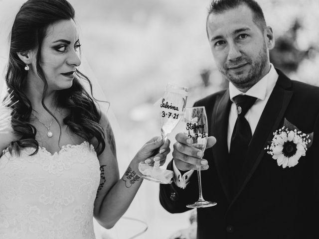 Il matrimonio di Stefano e Salvina a Scheggino, Perugia 33