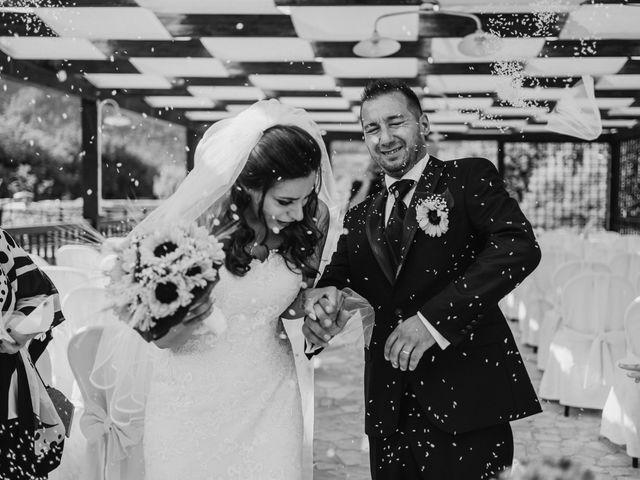 Il matrimonio di Stefano e Salvina a Scheggino, Perugia 34