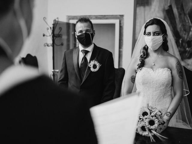 Il matrimonio di Stefano e Salvina a Scheggino, Perugia 36