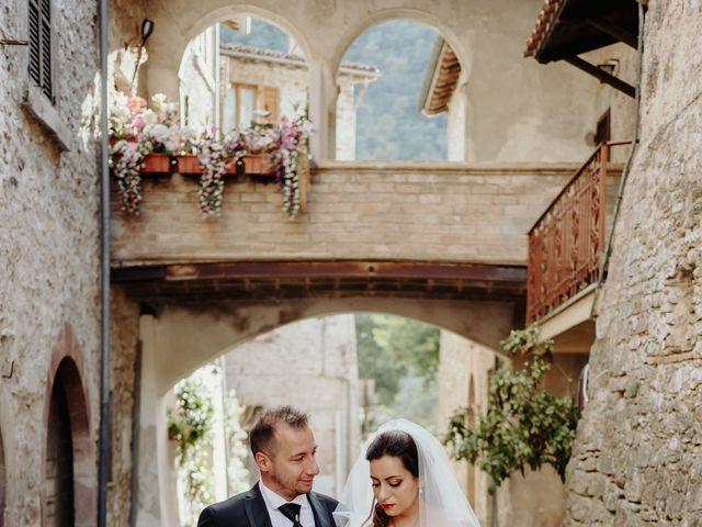 Il matrimonio di Stefano e Salvina a Scheggino, Perugia 38