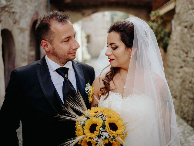 Il matrimonio di Stefano e Salvina a Scheggino, Perugia 39