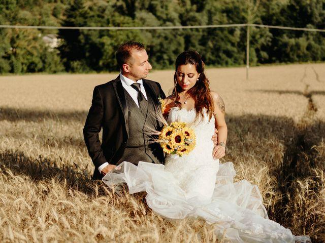 Il matrimonio di Stefano e Salvina a Scheggino, Perugia 46