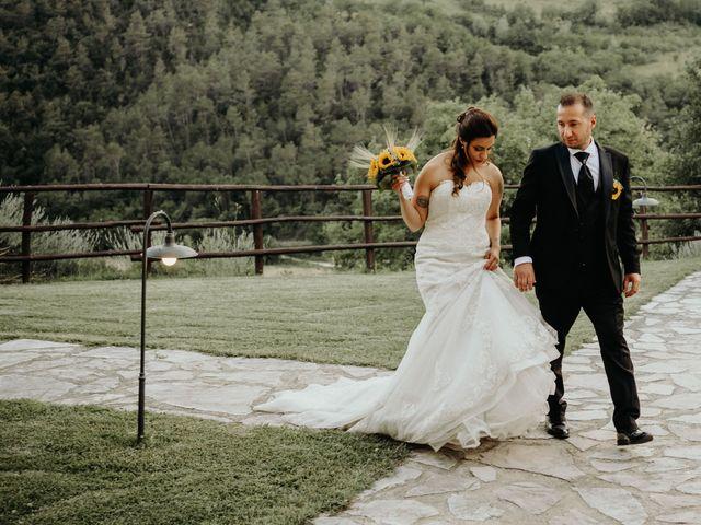 Il matrimonio di Stefano e Salvina a Scheggino, Perugia 51