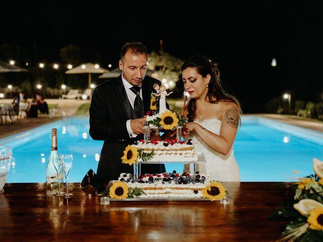 Il matrimonio di Stefano e Salvina a Scheggino, Perugia 53