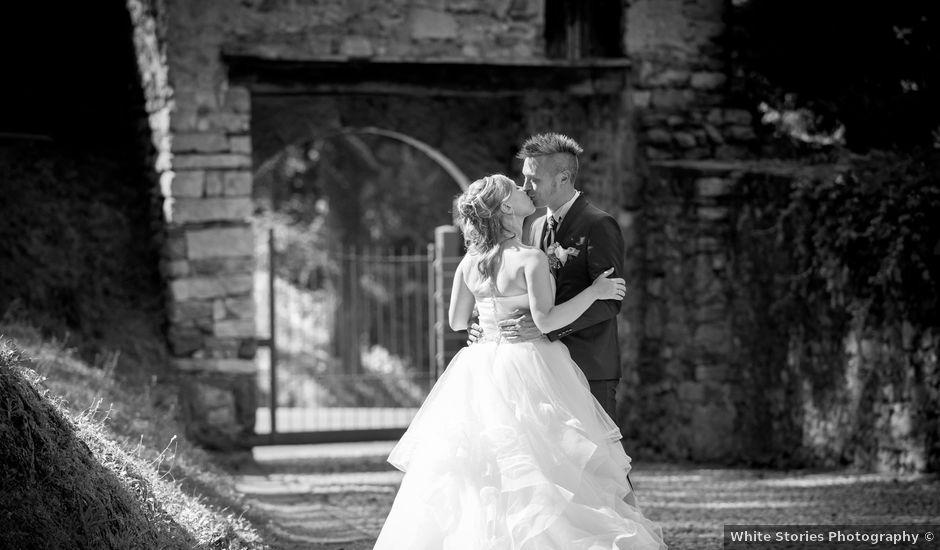 Il matrimonio di Matteo e Camilla a Angera, Varese