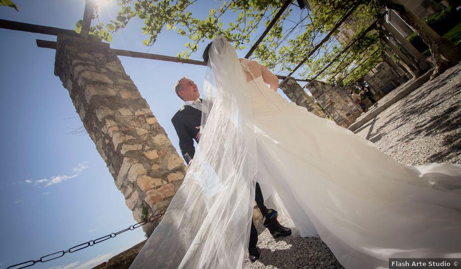 Il matrimonio di Gianluigi e Chiara a Cocquio-Trevisago, Varese