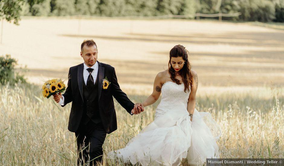 Il matrimonio di Stefano e Salvina a Scheggino, Perugia