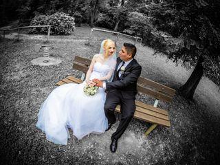Le nozze di Crystal e Jhordan