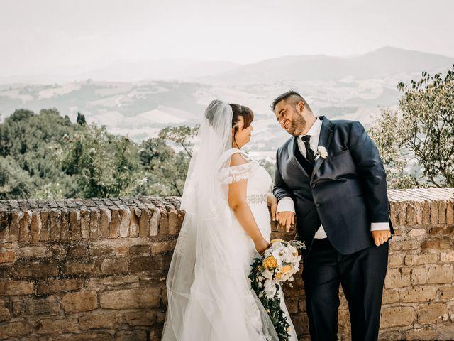 Il matrimonio di Deborah e Alessandro a San Lorenzo in Campo, Pesaro - Urbino 51