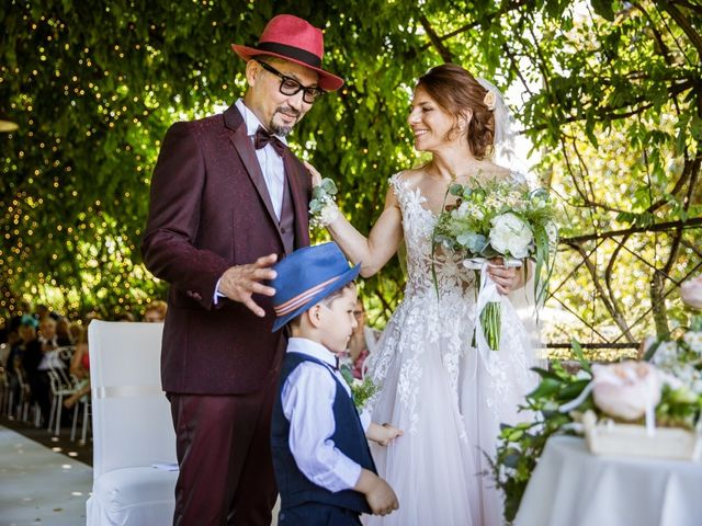 Le nozze di Lisa e Hitoshi