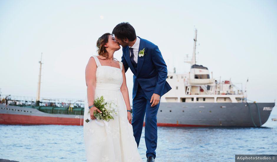 Il matrimonio di Mario e Gabriella a Lipari, Messina