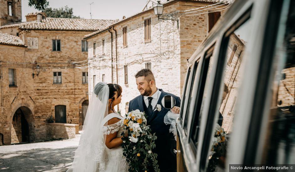 Il matrimonio di Deborah e Alessandro a San Lorenzo in Campo, Pesaro - Urbino