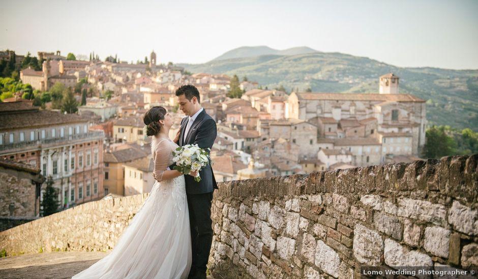 Il matrimonio di Leandro e Chiara a Perugia, Perugia