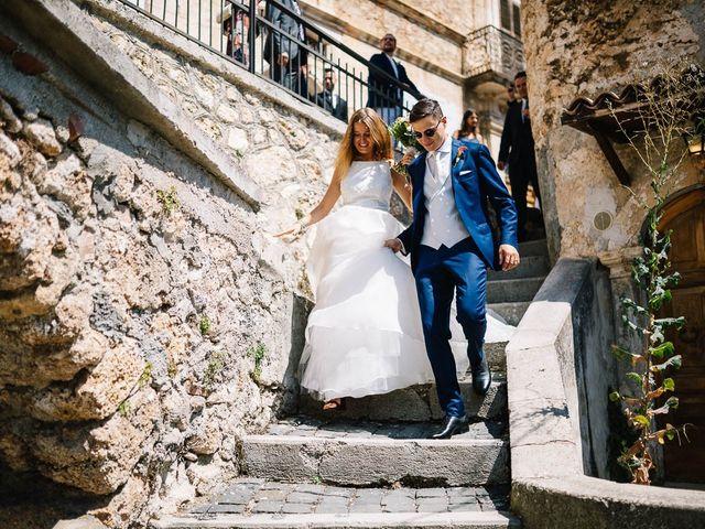 Il matrimonio di Marian e Valentina a Santo Stefano di Sessanio, L'Aquila 40