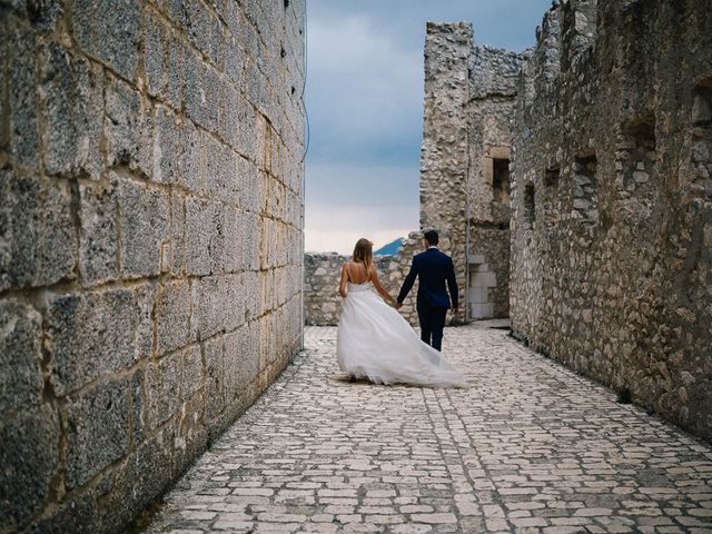 Il matrimonio di Marian e Valentina a Santo Stefano di Sessanio, L'Aquila 60