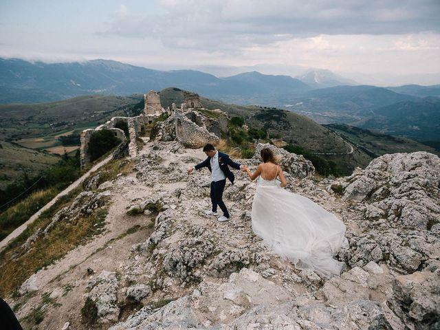 Il matrimonio di Marian e Valentina a Santo Stefano di Sessanio, L'Aquila 62