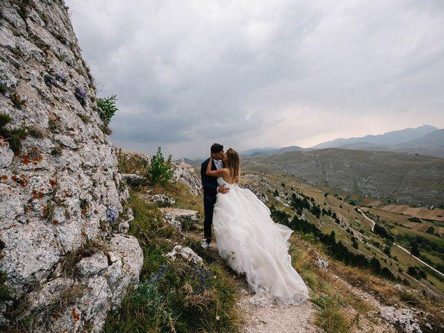 Il matrimonio di Marian e Valentina a Santo Stefano di Sessanio, L'Aquila 63