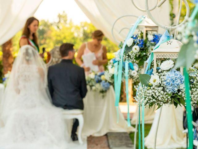 Il matrimonio di Lorenzo e Laura a Mapello, Bergamo 34
