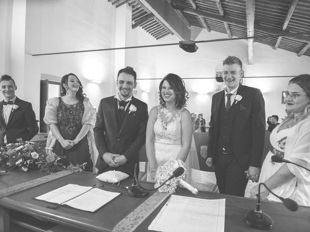 Il matrimonio di Cristian e Francesca a Soriano nel Cimino, Viterbo 19