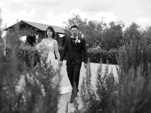 Il matrimonio di Cristian e Francesca a Soriano nel Cimino, Viterbo 21
