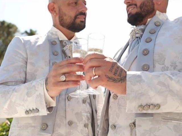 Il matrimonio di Massimiliano  e Ciro  a Boscotrecase, Napoli 1