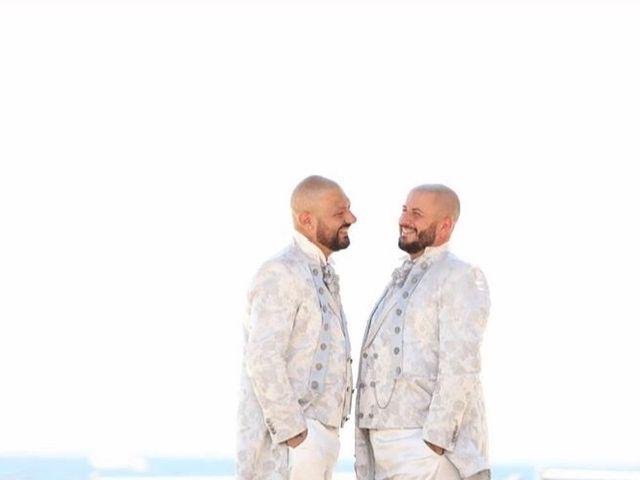 Il matrimonio di Massimiliano  e Ciro  a Boscotrecase, Napoli 2