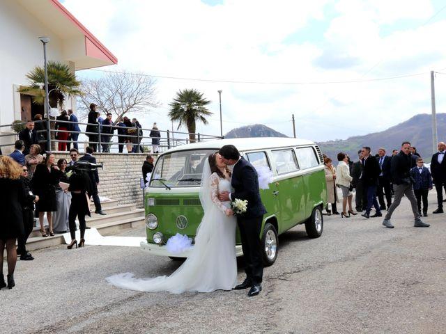 Il matrimonio di Antonio e Angela a Campoli del Monte Taburno, Benevento 22