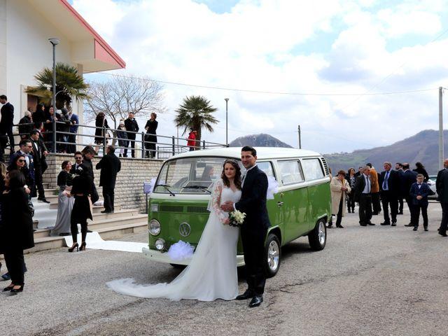 Il matrimonio di Antonio e Angela a Campoli del Monte Taburno, Benevento 25