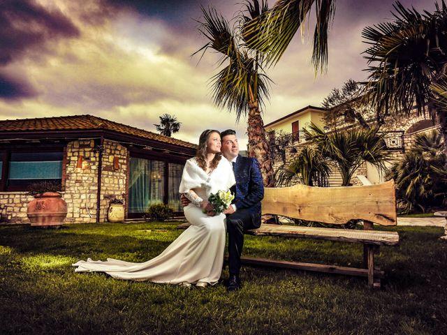Il matrimonio di Antonio e Angela a Campoli del Monte Taburno, Benevento 31