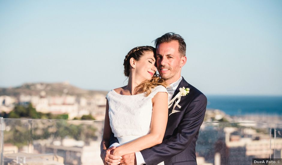 Il matrimonio di Stefano e Anna a Cagliari, Cagliari