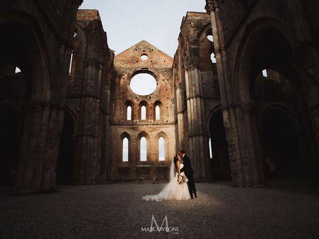 Il matrimonio di Andrea e Serena a Chiusdino, Siena 1