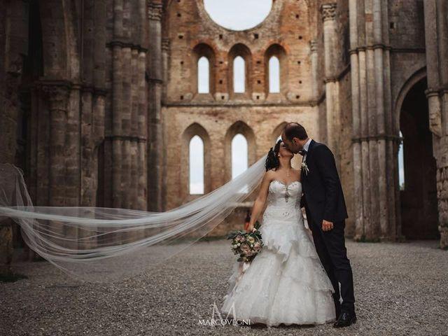 Il matrimonio di Andrea e Serena a Chiusdino, Siena 2