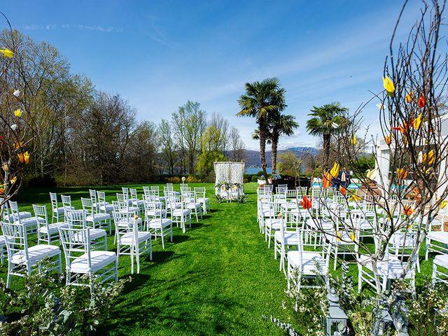 Il matrimonio di Fabio e Susanna a Monvalle, Varese 17