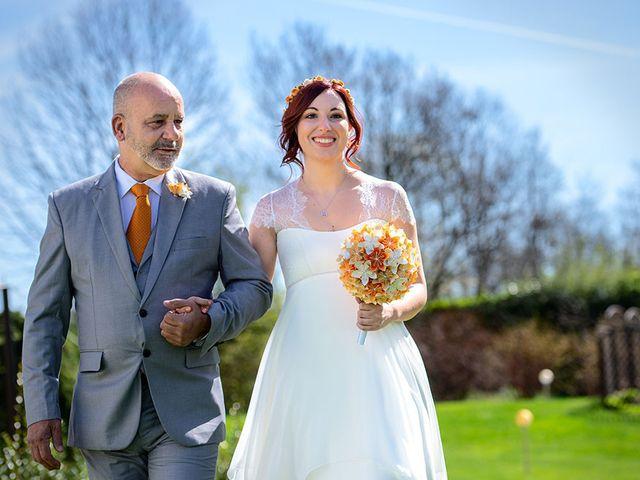 Il matrimonio di Fabio e Susanna a Monvalle, Varese 21