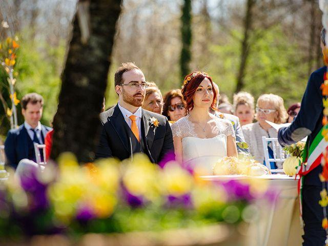 Il matrimonio di Fabio e Susanna a Monvalle, Varese 22