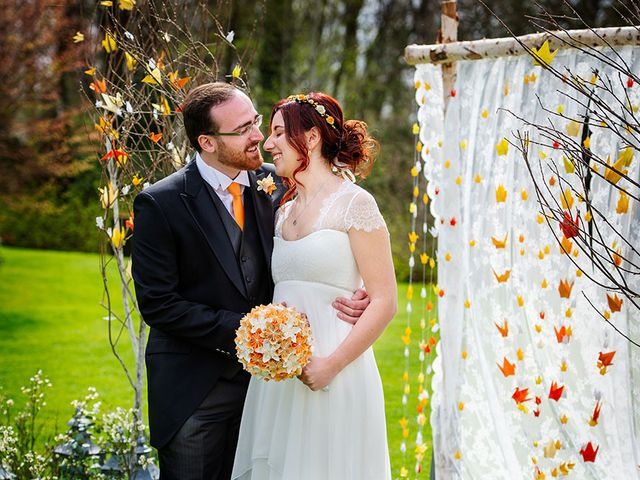 Il matrimonio di Fabio e Susanna a Monvalle, Varese 36