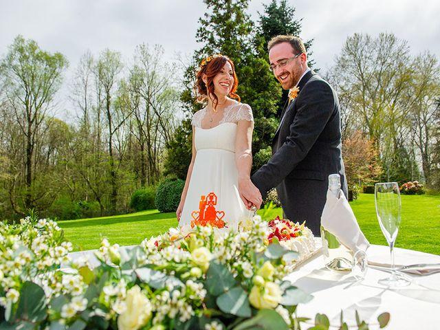 Il matrimonio di Fabio e Susanna a Monvalle, Varese 48