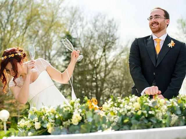 Il matrimonio di Fabio e Susanna a Monvalle, Varese 49