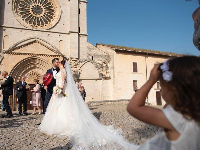 Il matrimonio di Azzurra e Gabriele a Priverno, Latina 56