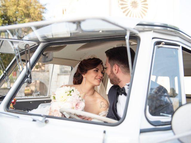 Il matrimonio di Azzurra e Gabriele a Priverno, Latina 75