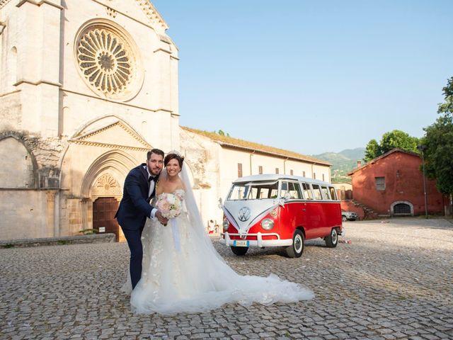 Il matrimonio di Azzurra e Gabriele a Priverno, Latina 82