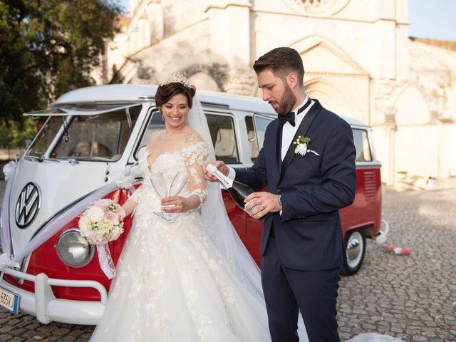 Il matrimonio di Azzurra e Gabriele a Priverno, Latina 83