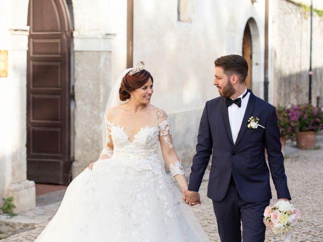 Il matrimonio di Azzurra e Gabriele a Priverno, Latina 95
