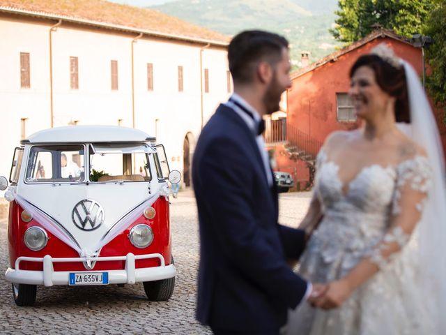 Il matrimonio di Azzurra e Gabriele a Priverno, Latina 99