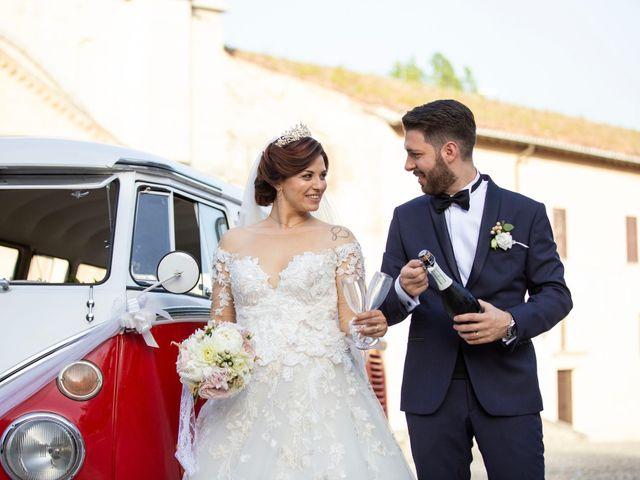 Il matrimonio di Azzurra e Gabriele a Priverno, Latina 100