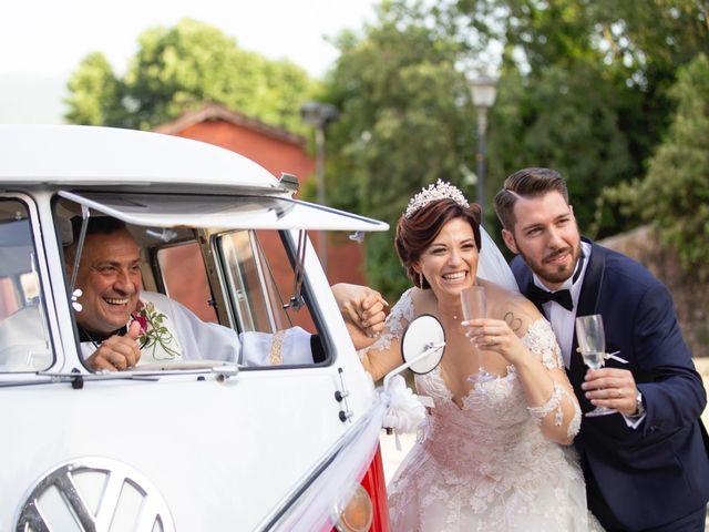 Il matrimonio di Azzurra e Gabriele a Priverno, Latina 102