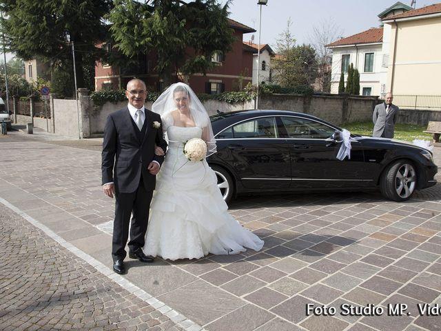 Il matrimonio di Elisa e Yuri a Senago, Milano 1