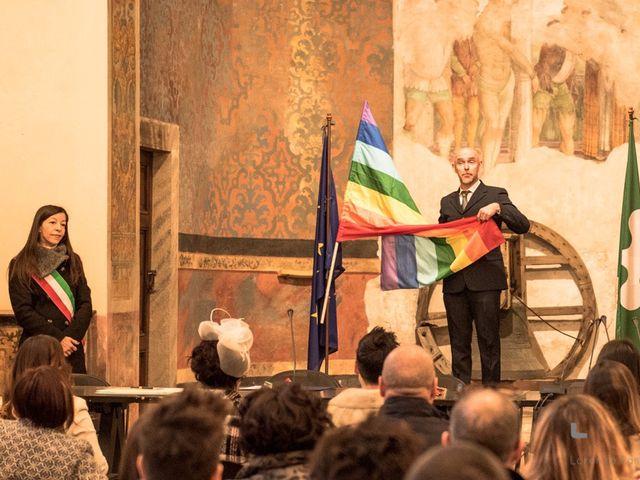 Il matrimonio di Michela e Elena a Sale Marasino, Brescia 8